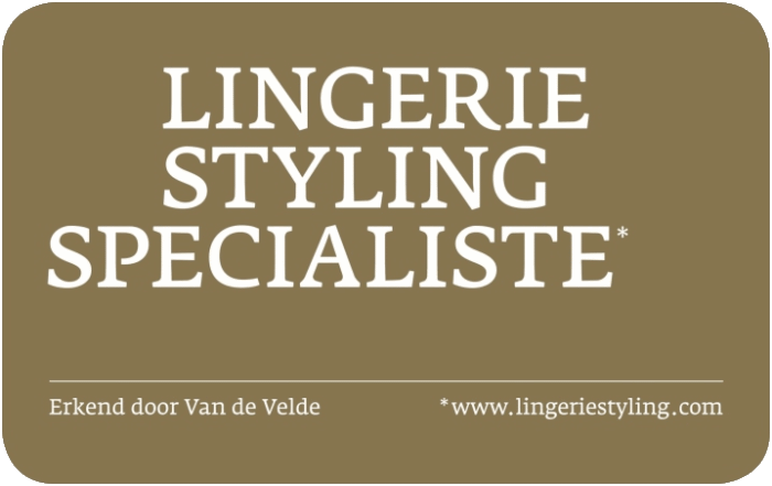 Quality Label Lingerie Intimo Oostkamp erkend Lingerie Styling Specialiste